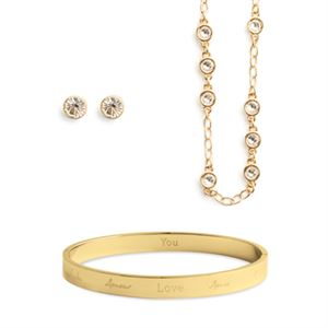 Picture of VICTORIA GOLD LOVE SET
